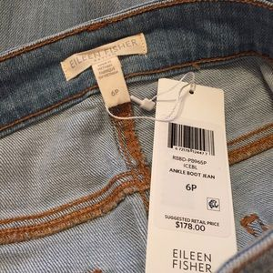 Eileen Fisher Jeans - Eileen Fisher Petite Ankle Boot Jeans Size 6P New